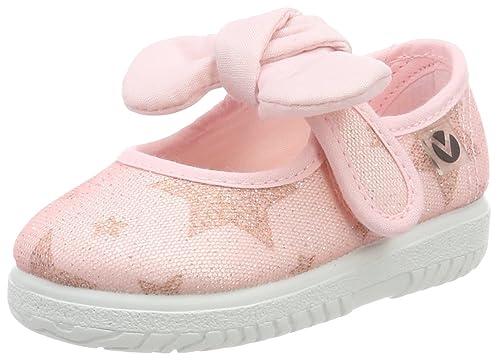 Victoria Mercedes Lurex Estrellas, Zapatillas Unisex bebé: Amazon.es: Zapatos y complementos