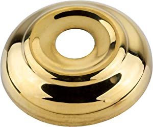 Stamped Brass Bed Cannon Ball Washer | Bed Ball Finial Washer, Replacement or Repairing Hardware for Bed Frame in Antique or Modern Styles | A-33