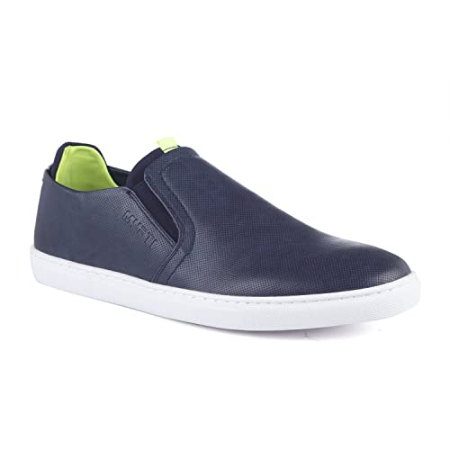 Buy Mufti Navy Blue Shoes at Amazon.in