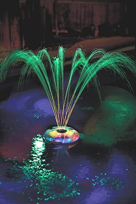 Rechargeable Underwater Floating Light Show and Fountain for Swimming Pools