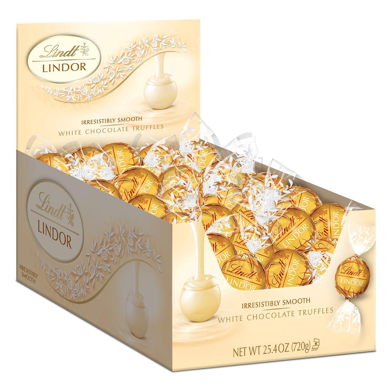 Lindor Truffles White Chocolate (60 ct.)