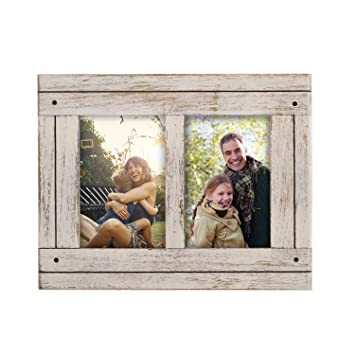 Amazoncom Decenthome 2 Opening Antique Wood Collage Frame 4 By 6