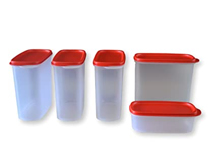 66629c6a146 Buy Tupperware Smart Saver Set (4 pcs 1700ml and 1 pcs 500ml ...