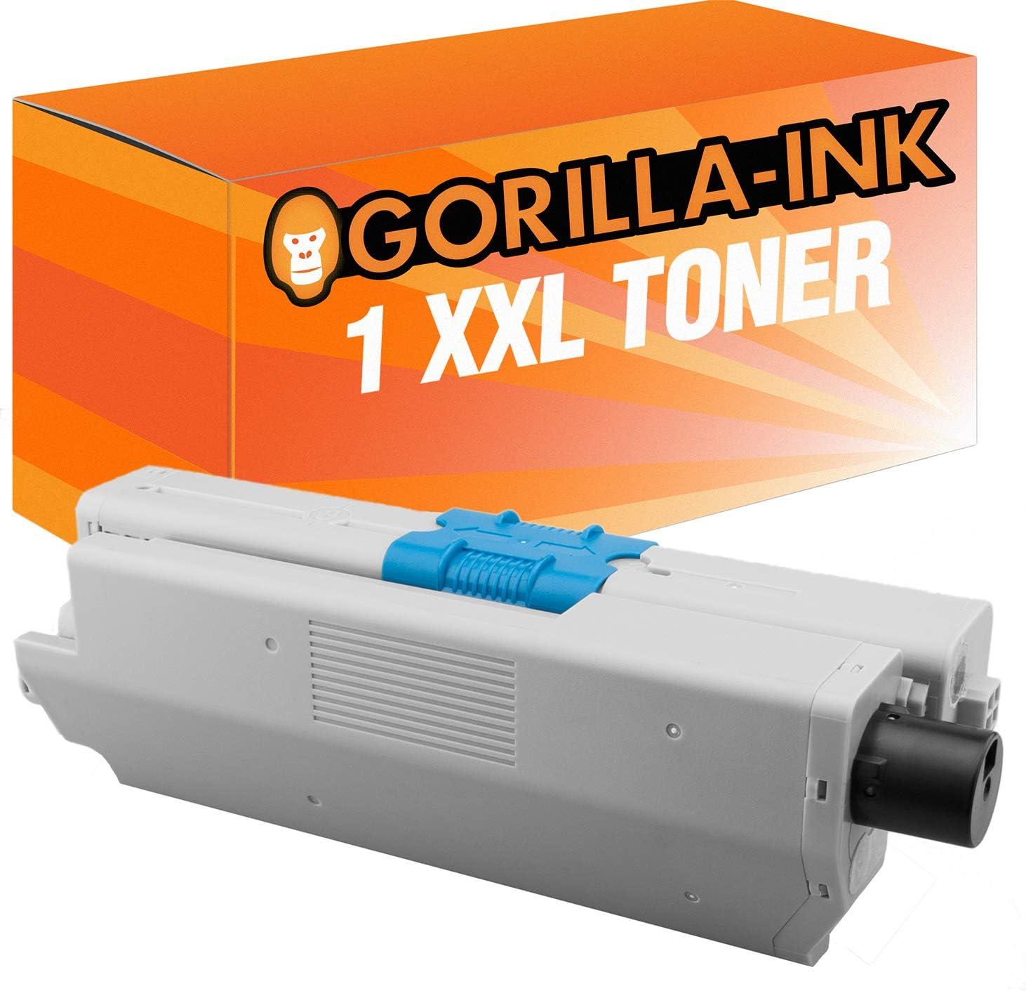 Gorilla-Ink 1 Toner Negro Compatible para OKI C-332 C332 C 332 ...