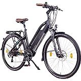 NCM Milano+ Bicicleta eléctrica urbana, 48 V, 66 / 71 cm, para hombre y mujer, 250 W con el motor trasero, 14 Ah 672 WH…