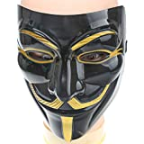 A-szcxtop the latest Halloween Masquerade Carnival Costume Party Supplies Anonymous V for Vendetta Guy Fawkes Fancy Dress Halloween Face Mask