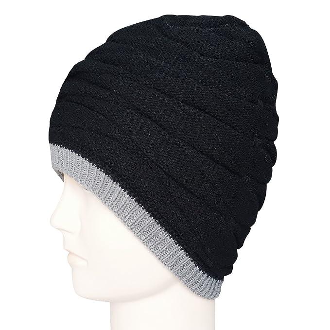 cafbbfc3d41 Chalier Mens Beanie Hat