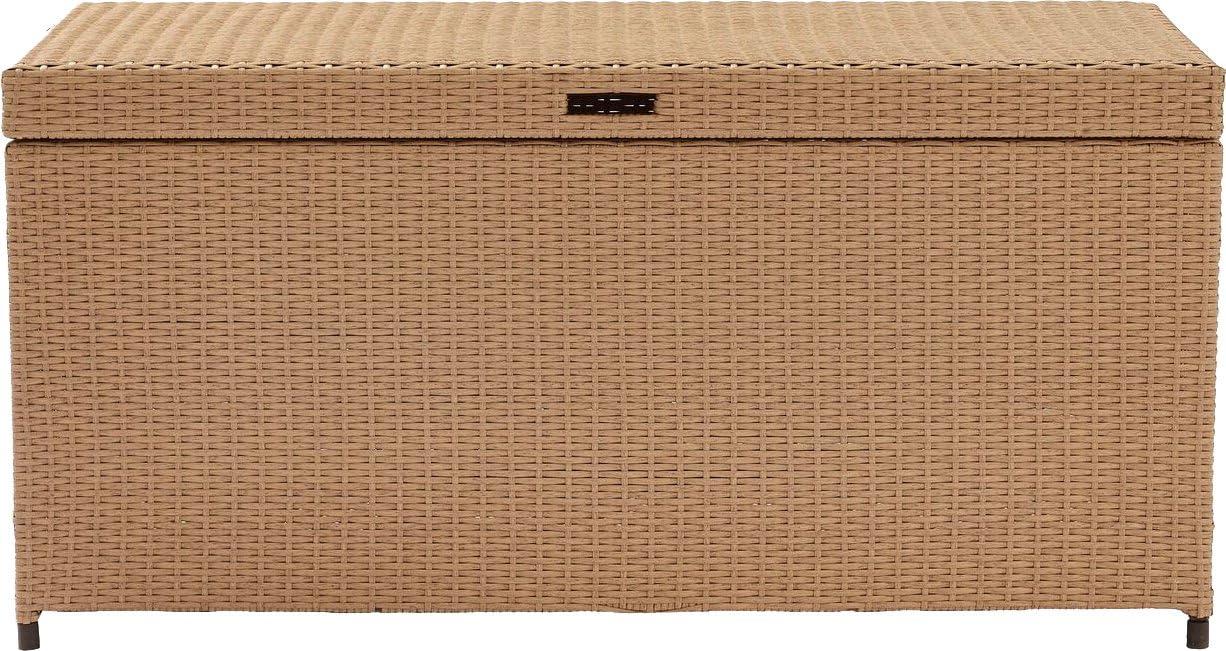Crosley Furniture CO7300-WG Palm Harbor Outdoor Wicker Storage Bin Gray