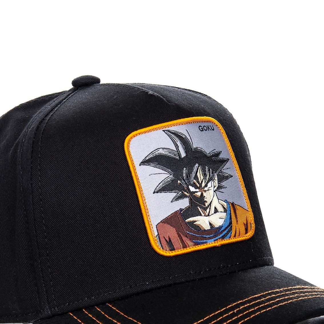 Collabs Gorra Dragon Ball Z Goku Negro OSFA (Talla única para Todos sexos): Amazon.es: Ropa y accesorios