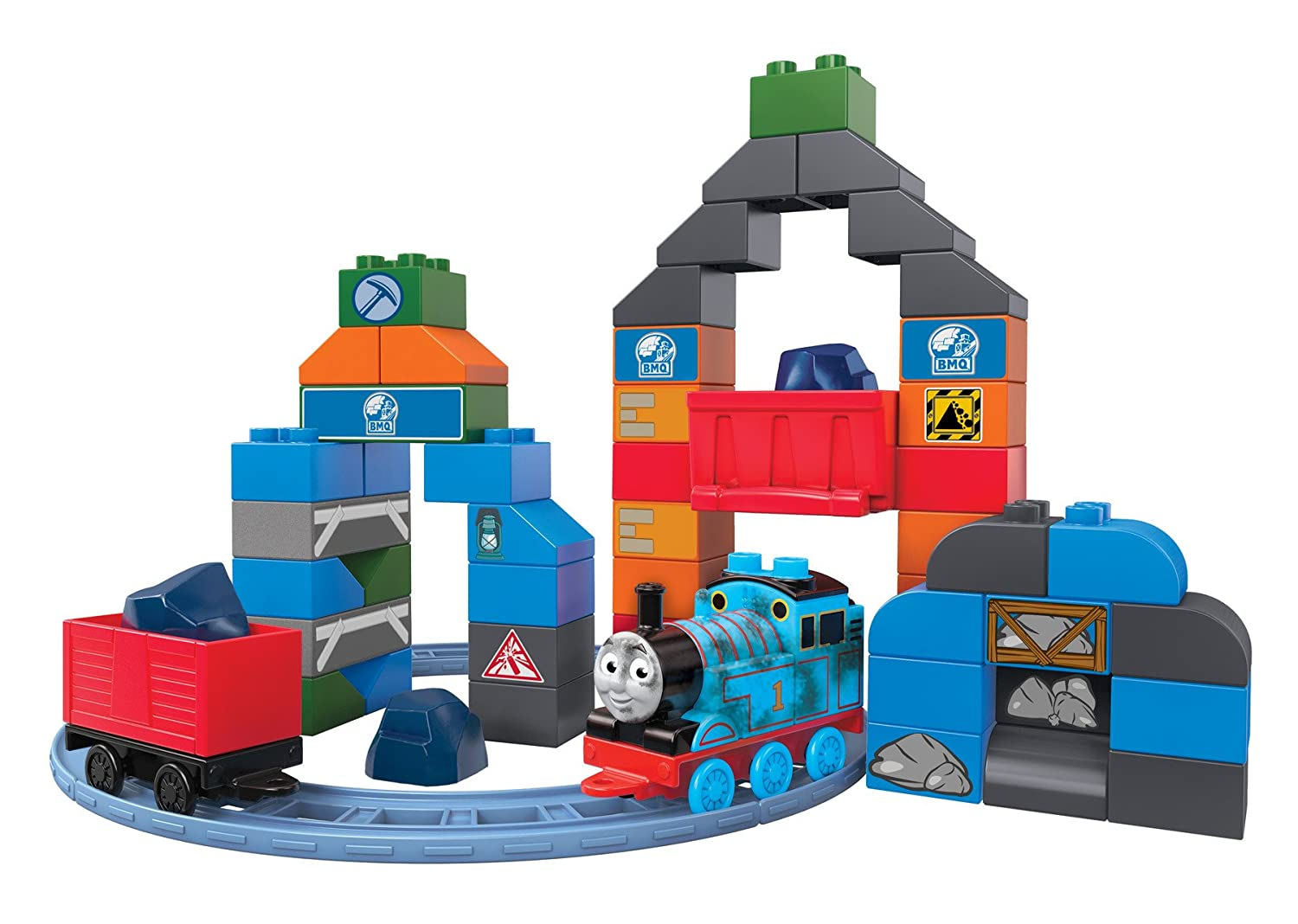 Mega Bloks Thomas & Friends - Thomas Blue Mountain Coal Mine Building Set