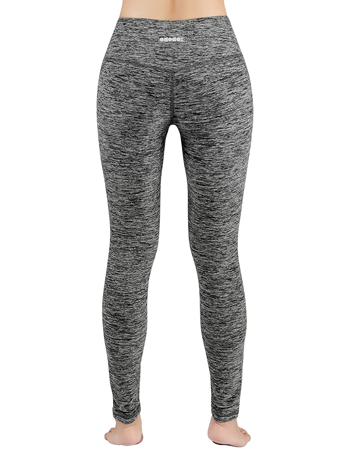 d590f70841f19 ODODOS Women's Yoga Pants Tummy Control Workout Running Non See-Through  Fabric Yoga Leggings with Hidden Pocket - Black -: Amazon.co.uk: Clothing