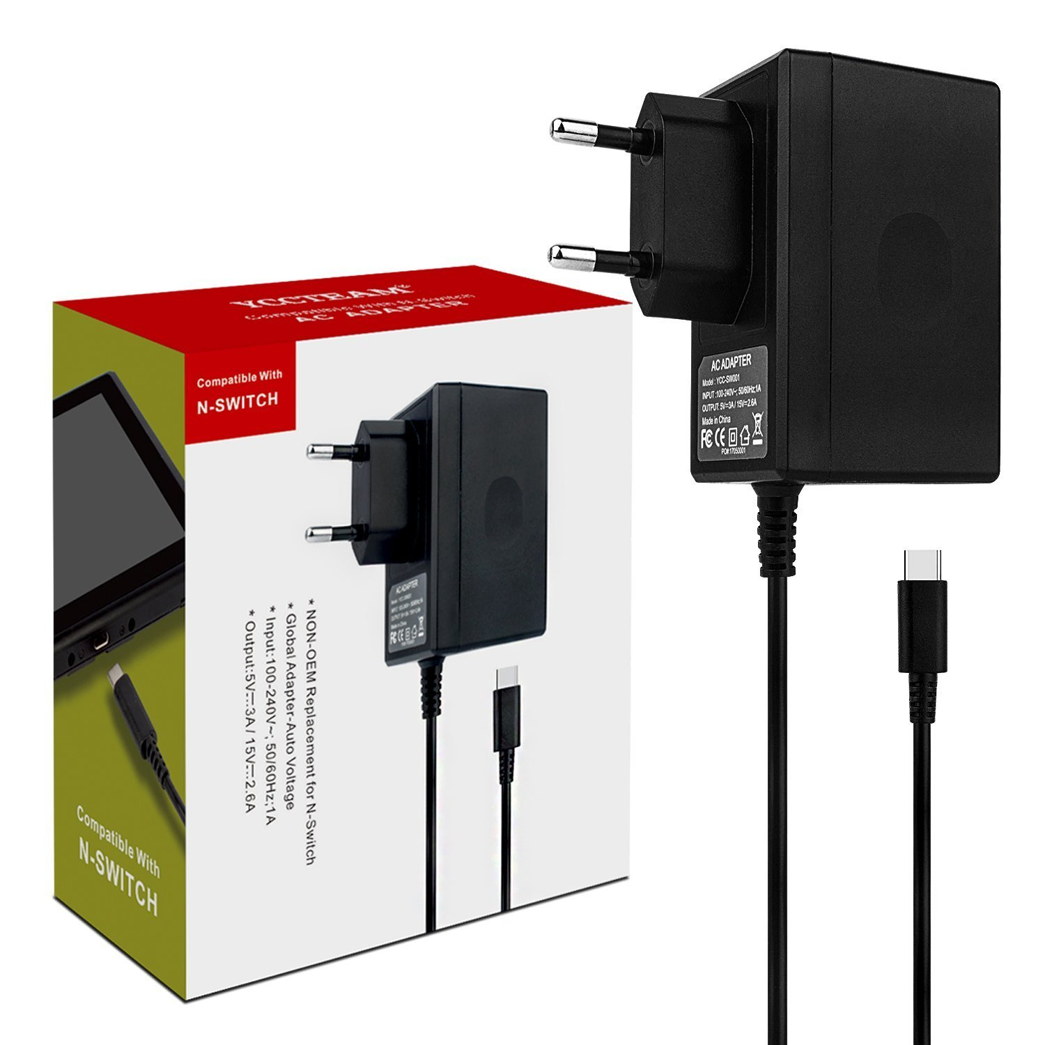 Switch adaptador soporte el Mode TV carga rápida USB Type C ...
