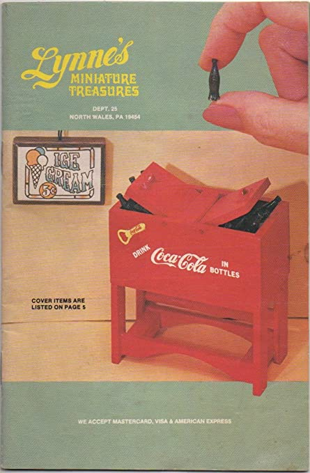 Amazon Com Lynne S Miniature Treasures Dollhouse Catalogue 1983