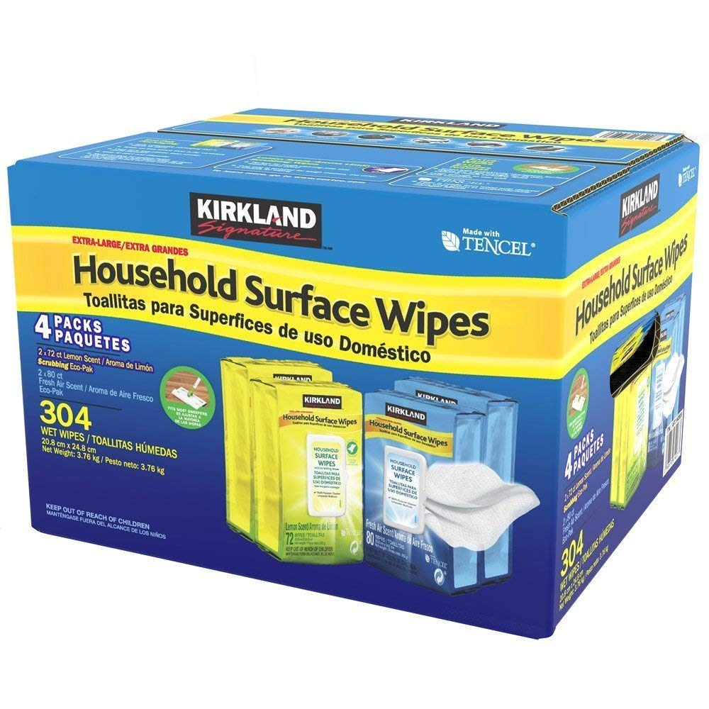 Kirkland Household Surface Wipes CostcoHomemade Baby Wipes