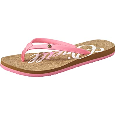 5d576b7848e9d O Neill Oneill Womens Ladies Logo Cork Flip Flops  Amazon.co.uk ...
