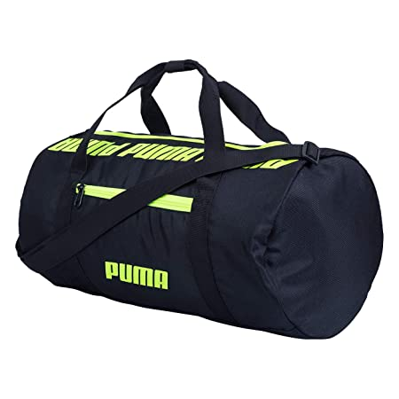Puma 07616901 Black Core Barrel Bag S Sports Duffle Bag  Amazon.in  Bags,  Wallets   Luggage 656623305f
