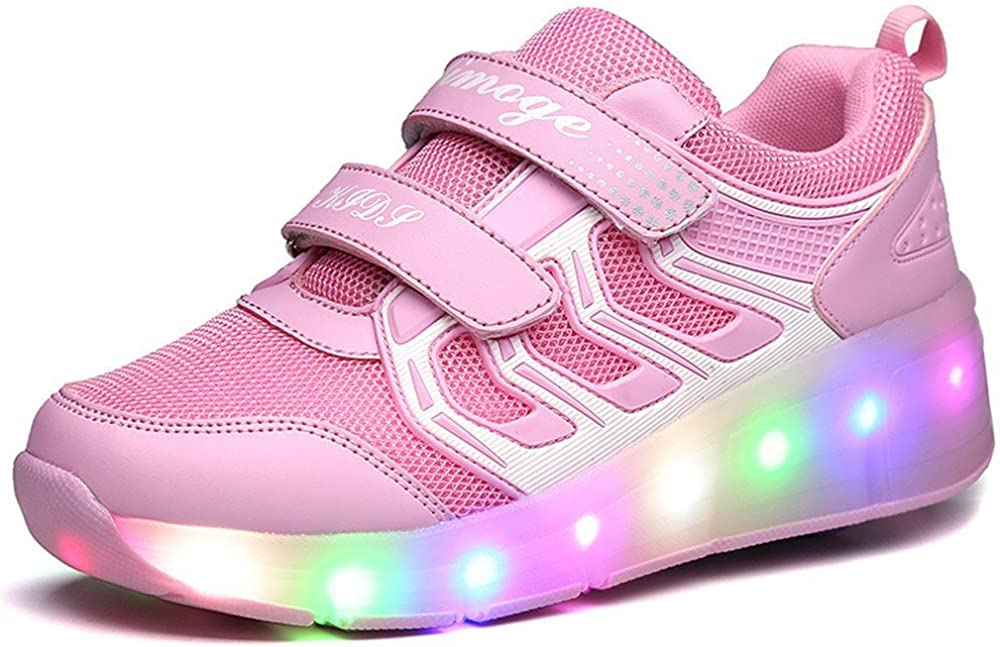 Jedi fight back Winter Shoe Kids Shoes Girls Boys Light Up Shoes Roller Shoes Skate Shoes Roller Sneakers Causal Shoes