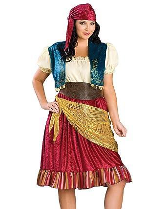 Amazon Summitfashions Plus Size Gypsy Costume Sexy Dress