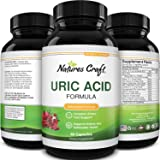 Uric Acid Vitamins for Men and Women – Herbal Full Body Cleanse Joint Support Muscle Recovery and Kidney Support Supplement -
