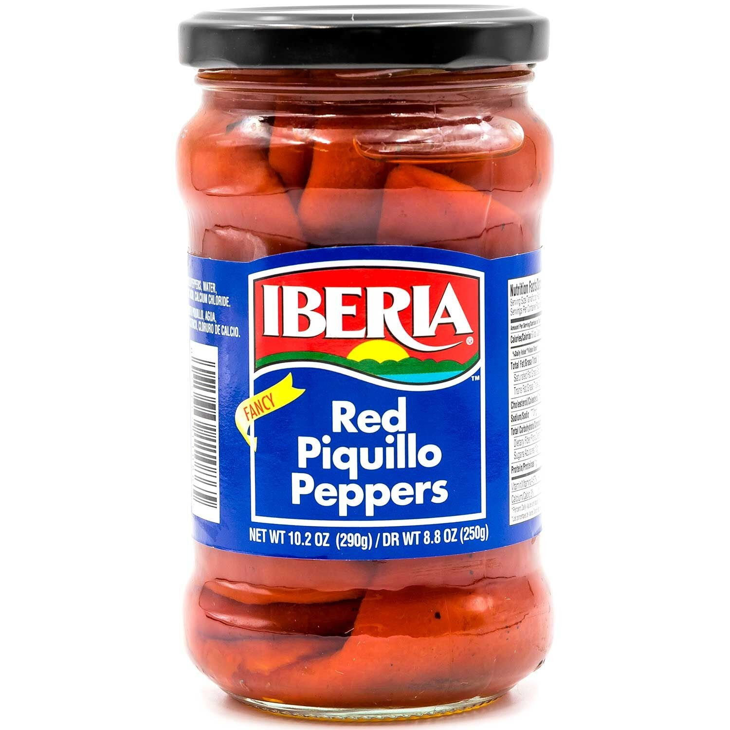 Iberia Red Piquillo Peppers - Pimiento Piquillo 10.2 oz by Iberia