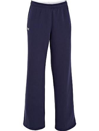 Under Armour UA Team Rival Pantalones de lana para mujer, Azul ...