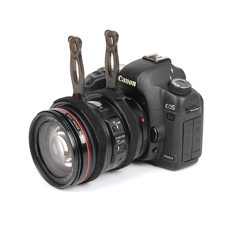 Movo Photo FF200 Enfoque de Seguimiento Manual o Follow Focus//Palanca de Control de Enfoque Abrazadera de Objetivo para C/ámaras de Video DSLR