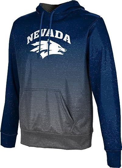 UNR ProSphere Men/'s University of Nevada Ombre Pullover Hoodie