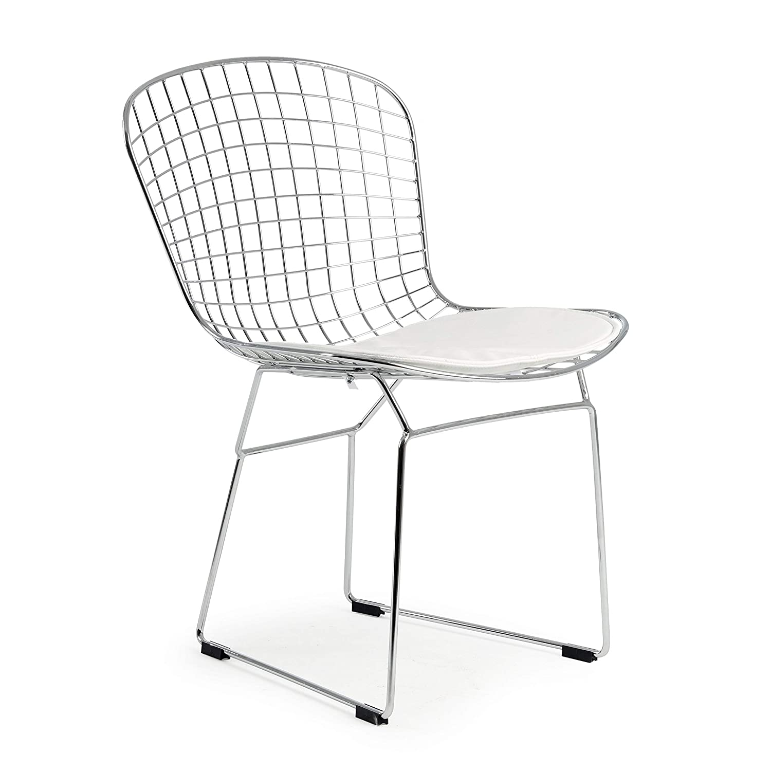 Poly and Bark Morph Side Chair in White Set of 2