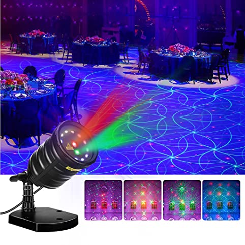Amazon.com: Suaoki Christmas Laser Light Outdoor Projector Motion ...
