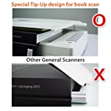 Plustek Opticpro A320L, A3 Scanner with CCD Sensor, no Warm-up Need. 8.5 sec for A3 Color scan. Suitable for Graphic Design, Large Format Maps and Color Catalog