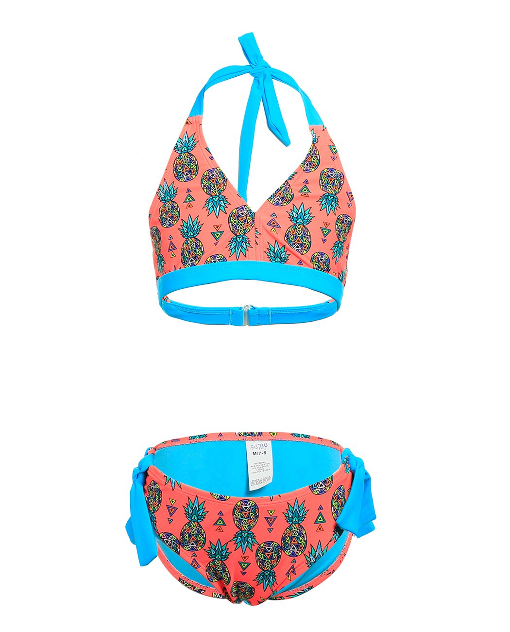 iDrawl Two Piece Swimwear, Pineapple Beach Sport Swimsuit Bathing Suit for Girls