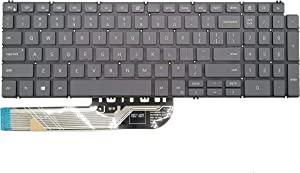 Replacement Keyboard Compatible with Dell inspiron 5508 5501 5584 5590 5593 5594 5598 Series Laptop US Layout with Backlit