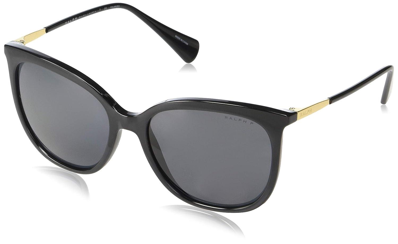 Amazon.com: Gafas de sol Ralph RA 5248 500181, color negro ...