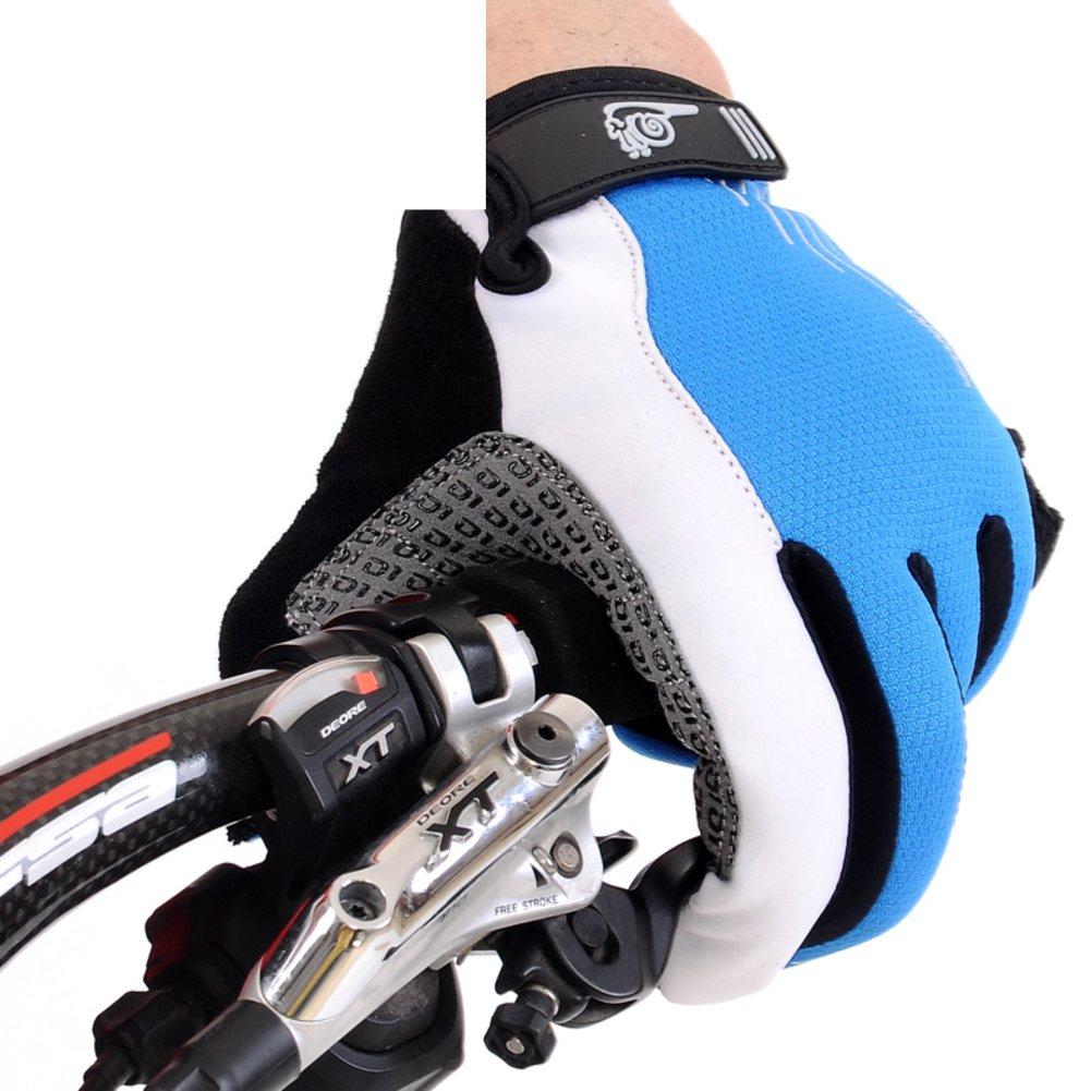DXG&FX 冬用ライディンググローブ ロングマウンテンバイク用 防風サーマル衝撃吸収グローブ 男女兼用 Small E B06WGS87N7