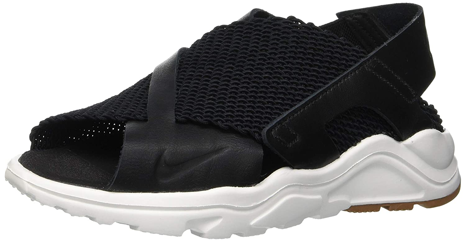 531fea6eff2 Nike Women s Air Huarache Sandal Black White 885118-001
