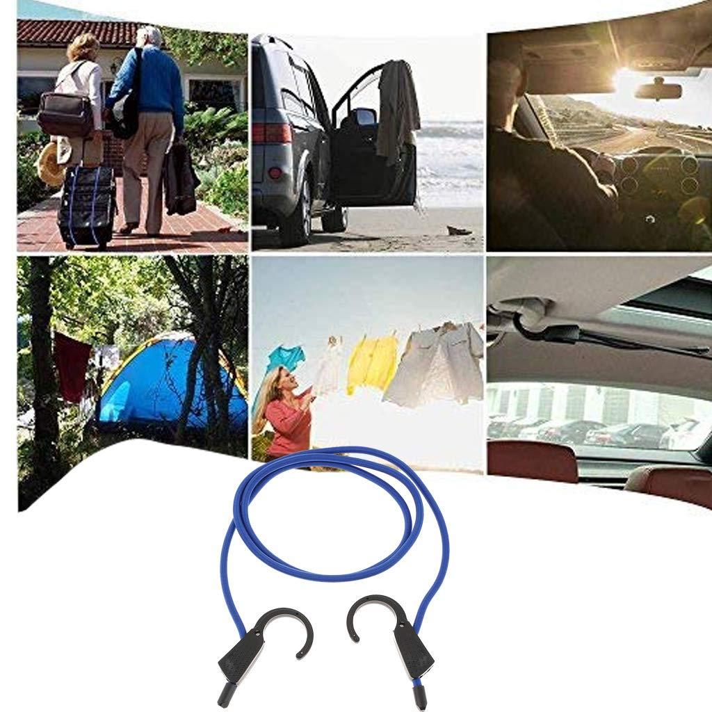 Bicicletta Cavi Elastici con Ganci Flessibile Accessori Sportivi per Bagagli in Auto P Prettyia Corde Elastiche
