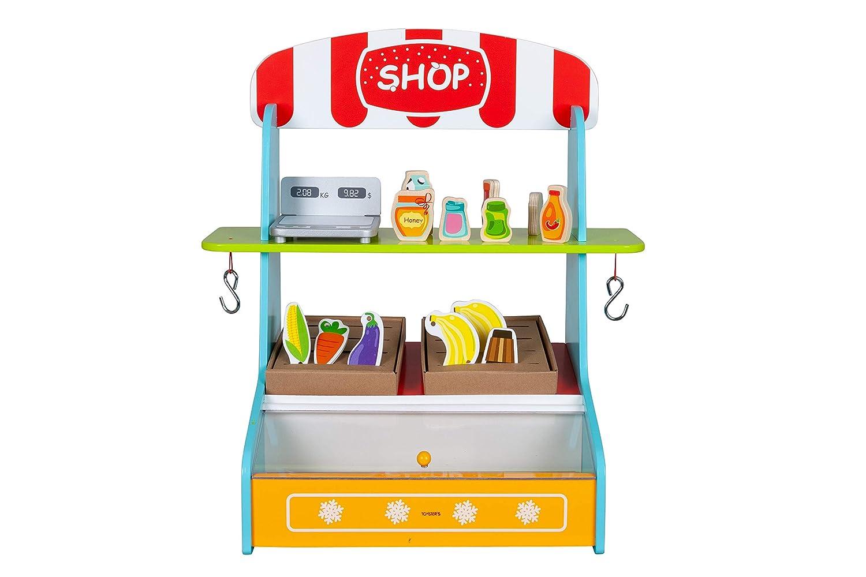 Amazon.com: TOYSTERS My Play Shop - Soporte de madera para ...