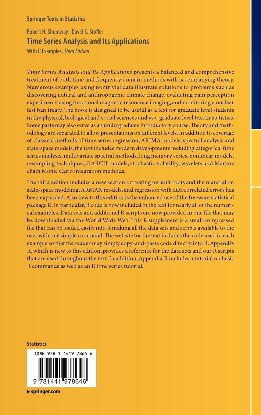 Time series analysis and its applications with r examples springer time series analysis and its applications with r examples springer texts in statistics amazon robert h shumway david s stoffer fremdsprachige fandeluxe Image collections