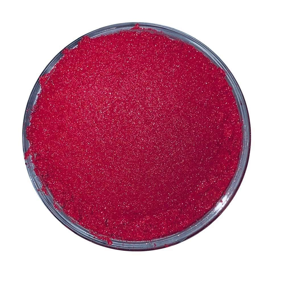 Mica Powder - Cosmetic Pigment Soap Bathbombs Eyeshadow Wax Melts Candle  (17  Mica Powder 50g - Cerise Red)