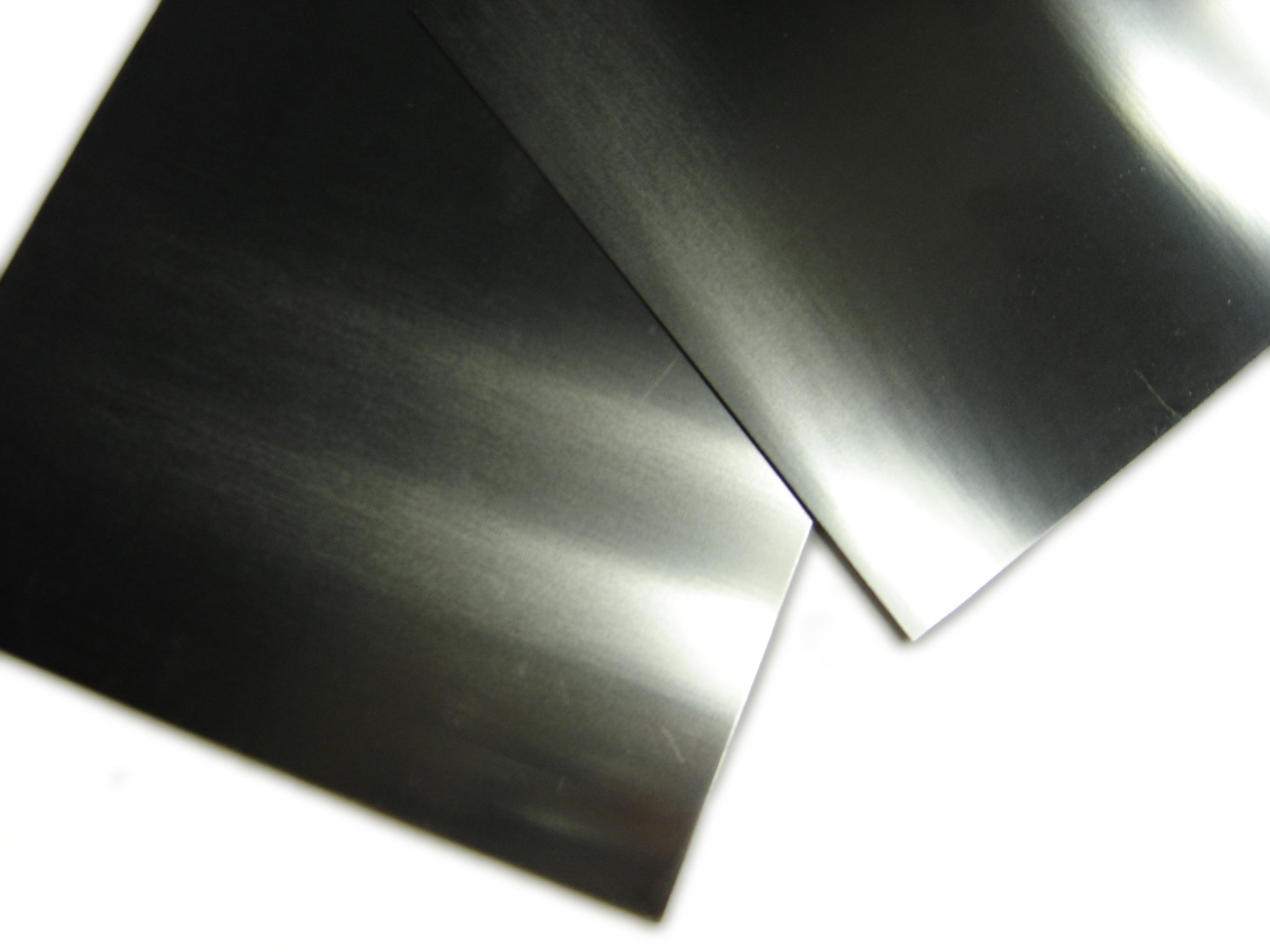 Molybdenum Sheet/Plate 6''x6''x0.04'', Polished by Torrey Hills Technologies