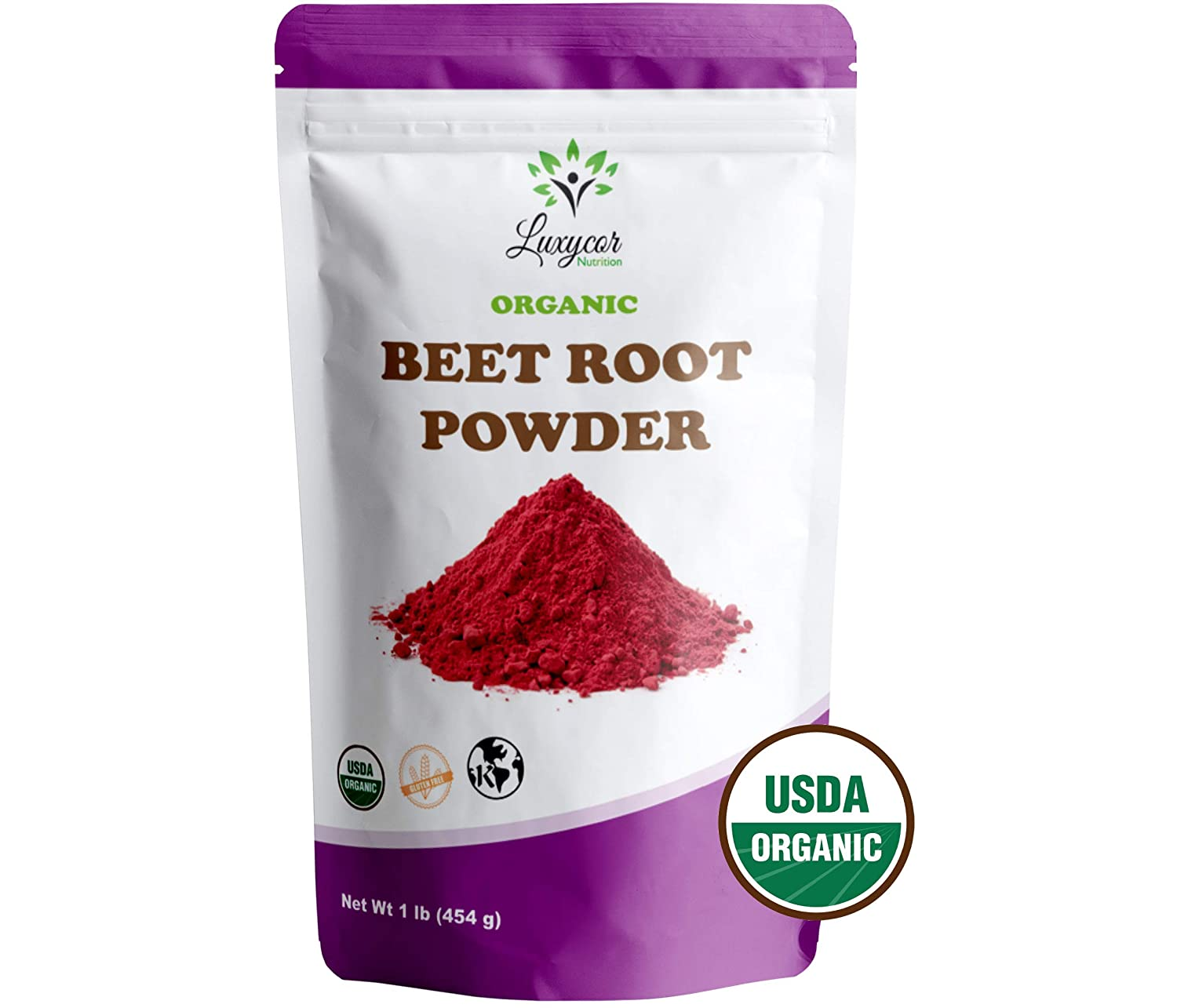 Organic Beet Root Powder – 100 All Natural and Kosher