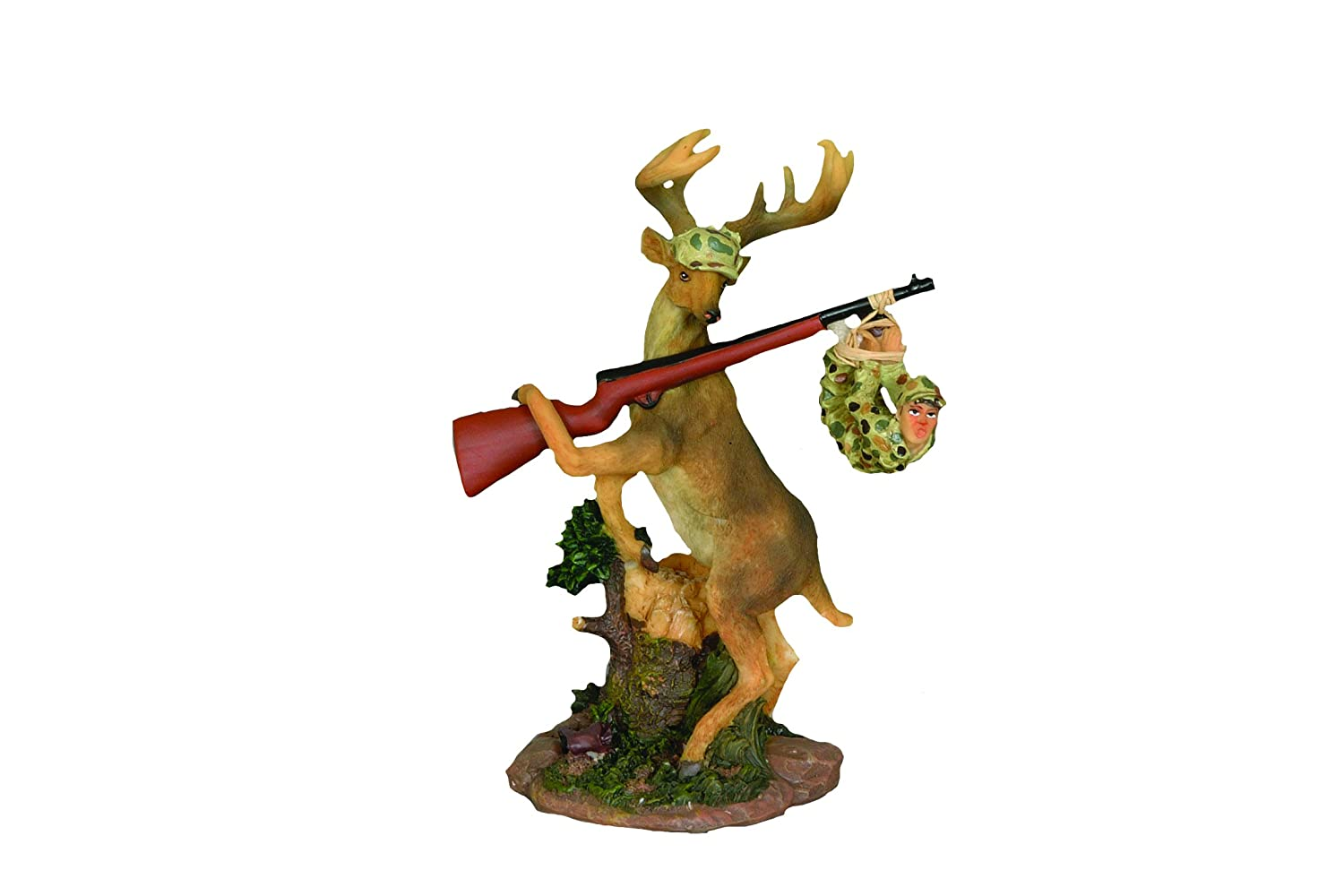 7-Inch Youngs Deer Gets Hunter Resin Figurine
