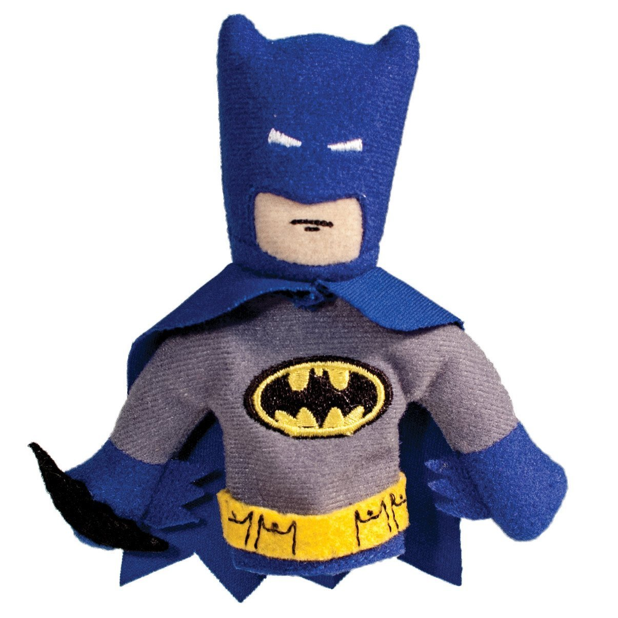 The Unemployed Philosophers Guild DC Comics Batman Finger Puppet and Refrigerator Magnet - for Kids and Adults