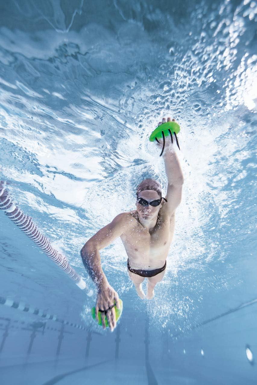 Arena Trainingsgerät Elite Finger Paddle - Palas de mano para natación, color verde (acid lime/black), talla única: Amazon.es: Deportes y aire libre