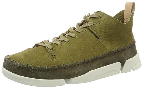 Clarks Originals Trigenic Flex, Zapatillas para Hombre, Verde (Forest Green), 40 EU