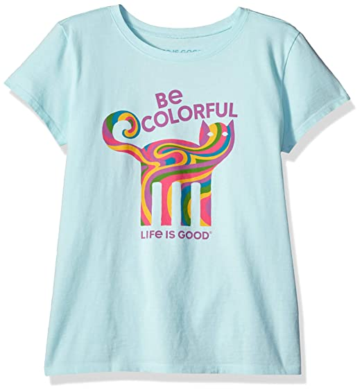 6d7974c2 Amazon.com: Life is Good Girls Crusher Graphic T-Shirts Collection ...