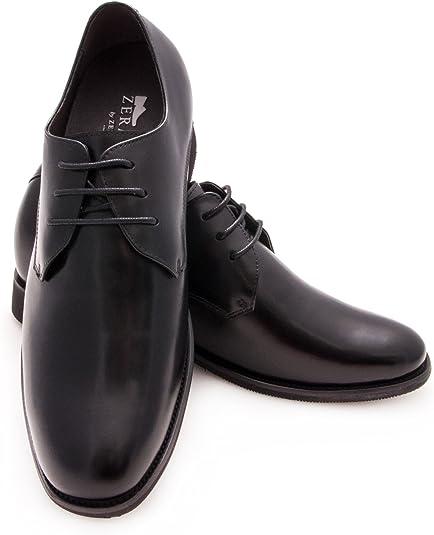 TALLA 39 EU. Zerimar Zapatos con Alzas Hombre  Zapatos de Hombre con Alzas Que Aumentan su Altura + 7 cm Zapatos con Alzas para Hombres   Zapatos Hombre Vestir