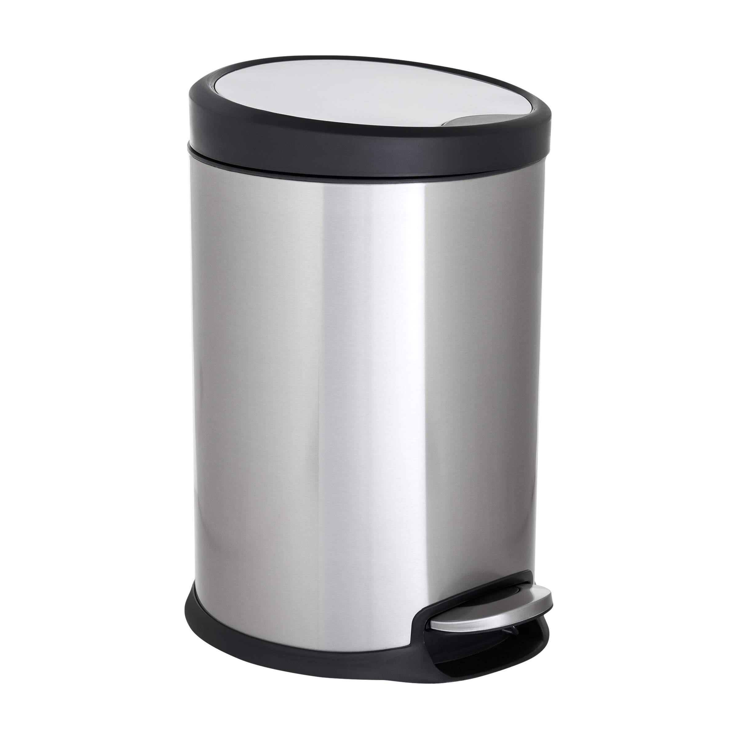 ToiletTree Products Stainless Steel Trash Can, 20 Liter