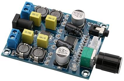 Amazon Com Audio Amplifier Board Yeeco Dual Channel 45w 45w