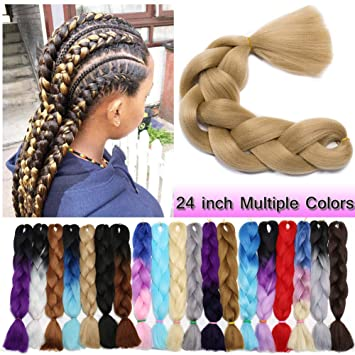 Stupendous Amazon Com Jumbo Braiding Hair Ash Blonde 1 Bundle Crochet Twist Schematic Wiring Diagrams Phreekkolirunnerswayorg